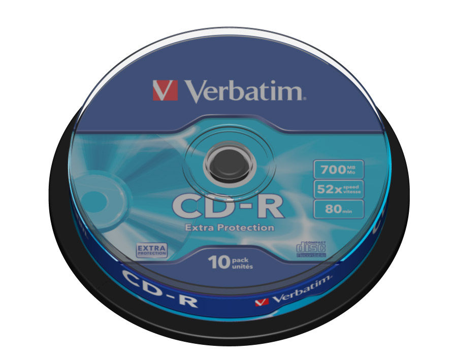 Płyta CD-R Verbatim 700MB Cake 10szt.