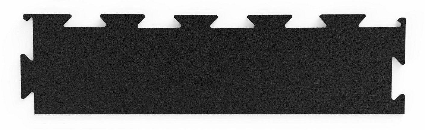 Bok profesjonalnej podłogi pod wolne ciężary Premium puzzle czarny - Marbo Sport