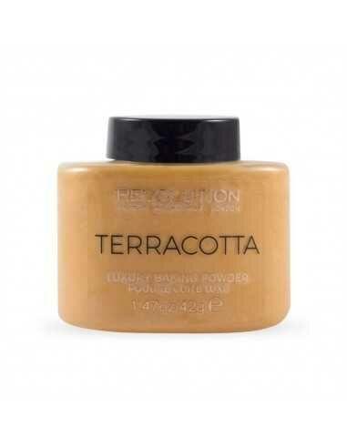 Makeup Revolution Terracotta Baking Powder puder rozświetlający