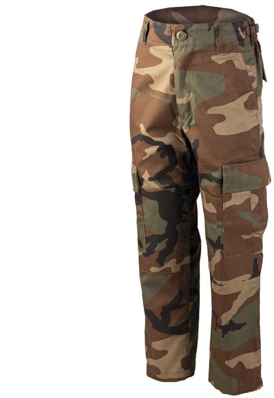 Spodnie dziecięce Mil-Tec BDU Woodland (12031020)