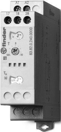 Przekaźnik czasowy 2NO 16A  gwiazda  trójkąt 24-240V AC/DC, Funkcja SD 83.82.0.240.0000