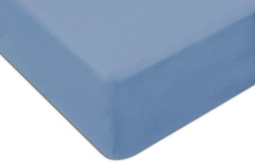 Prześcieradło Jersey Z Gumką 70x140 Niebieskie Darymex