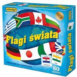 Flagi świata memory ZAKŁADKA DO KSIĄŻEK GRATIS DO KAŻDEGO ZAMÓWIENIA