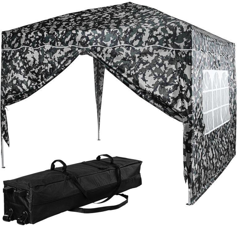 INSTENT Namiot ogrodowy - 3 x 3 m, miejski + 2 boki