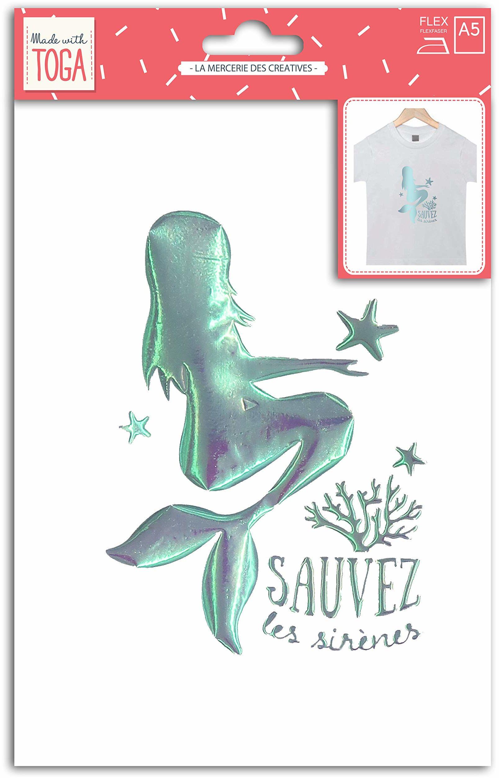 Wyprodukowano z Toga pod morzem, materiał tekstylny, 15 x 21 cm, olśniewający, wielokolorowy, nie nadaje się