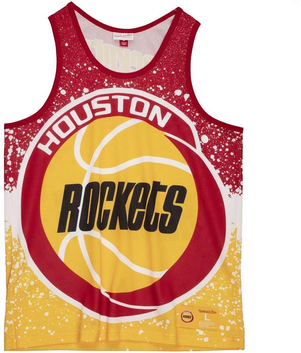 Koszulka męska bezrękawnik Mitchell & Ness NBA Houston Rockets Tank Top