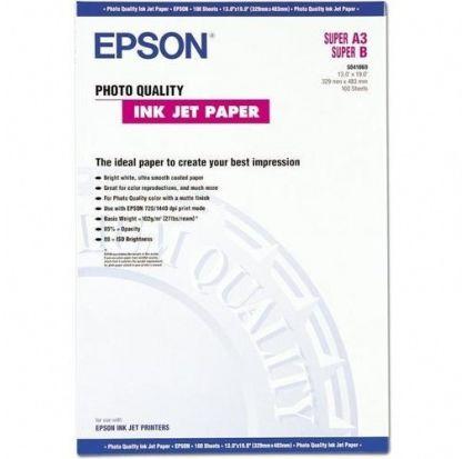 Papier A3+ EPSON PhotoQuality 104g (100ark) (C13S041069)