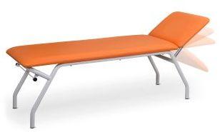 STORE BASIC Kozetka z regulowanym oparciem, stół do rehabilitacji i masażu UBM