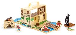 small foot 9541 domek dla lalek domek wróżki w walizce