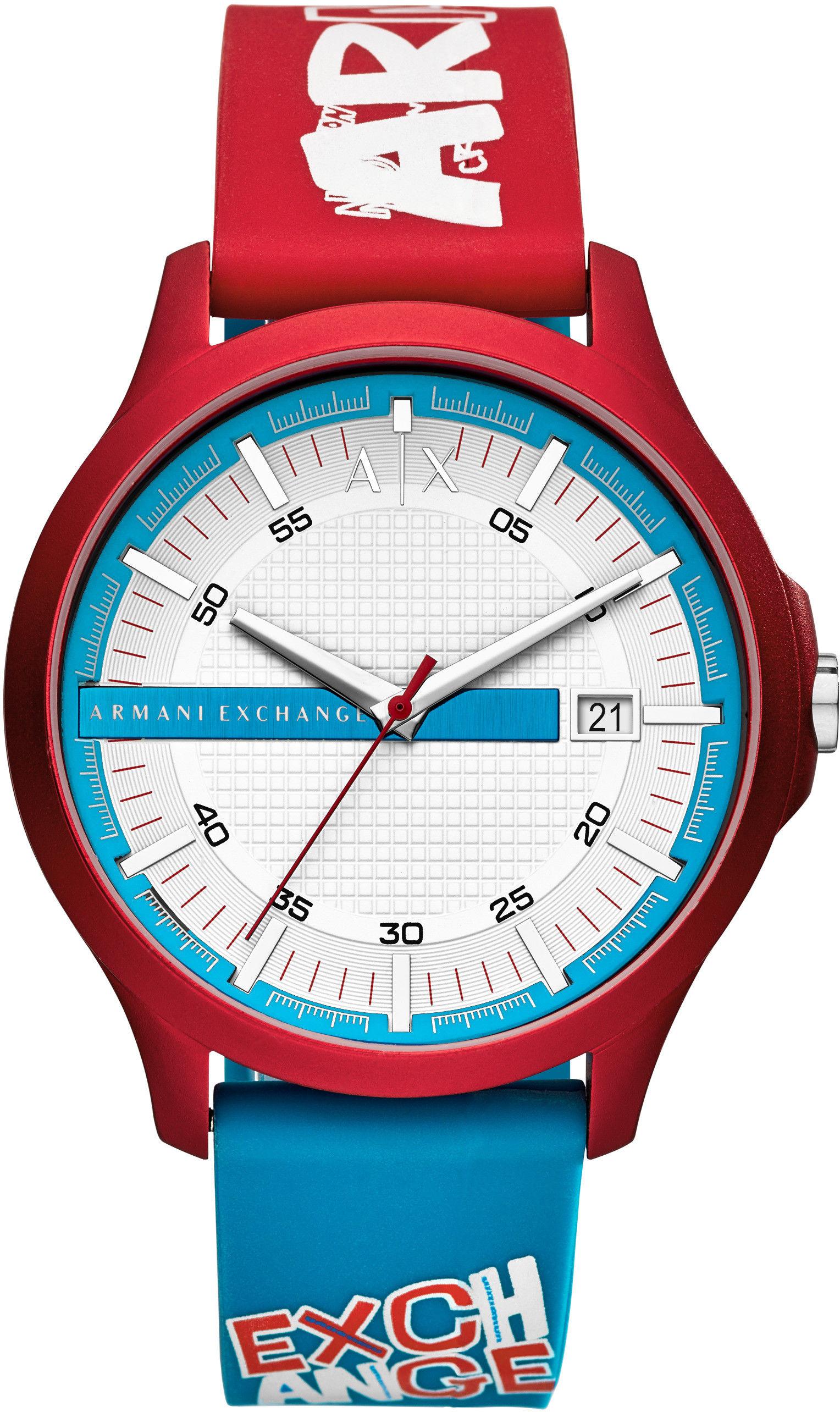 Zegarek Armani Exchange AX2409 HAMPTON - CENA DO NEGOCJACJI - DOSTAWA DHL GRATIS, KUPUJ BEZ RYZYKA - 100 dni na zwrot, możliwość wygrawerowania dowolnego tekstu.