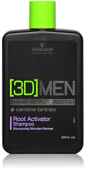 Schwarzkopf 3DMen Root Activator Szampon aktywizujący 250 ml