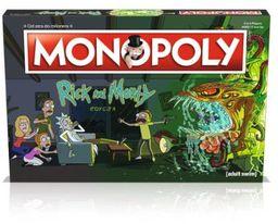 Monopoly Rick i Morty ZAKŁADKA DO KSIĄŻEK GRATIS DO KAŻDEGO ZAMÓWIENIA