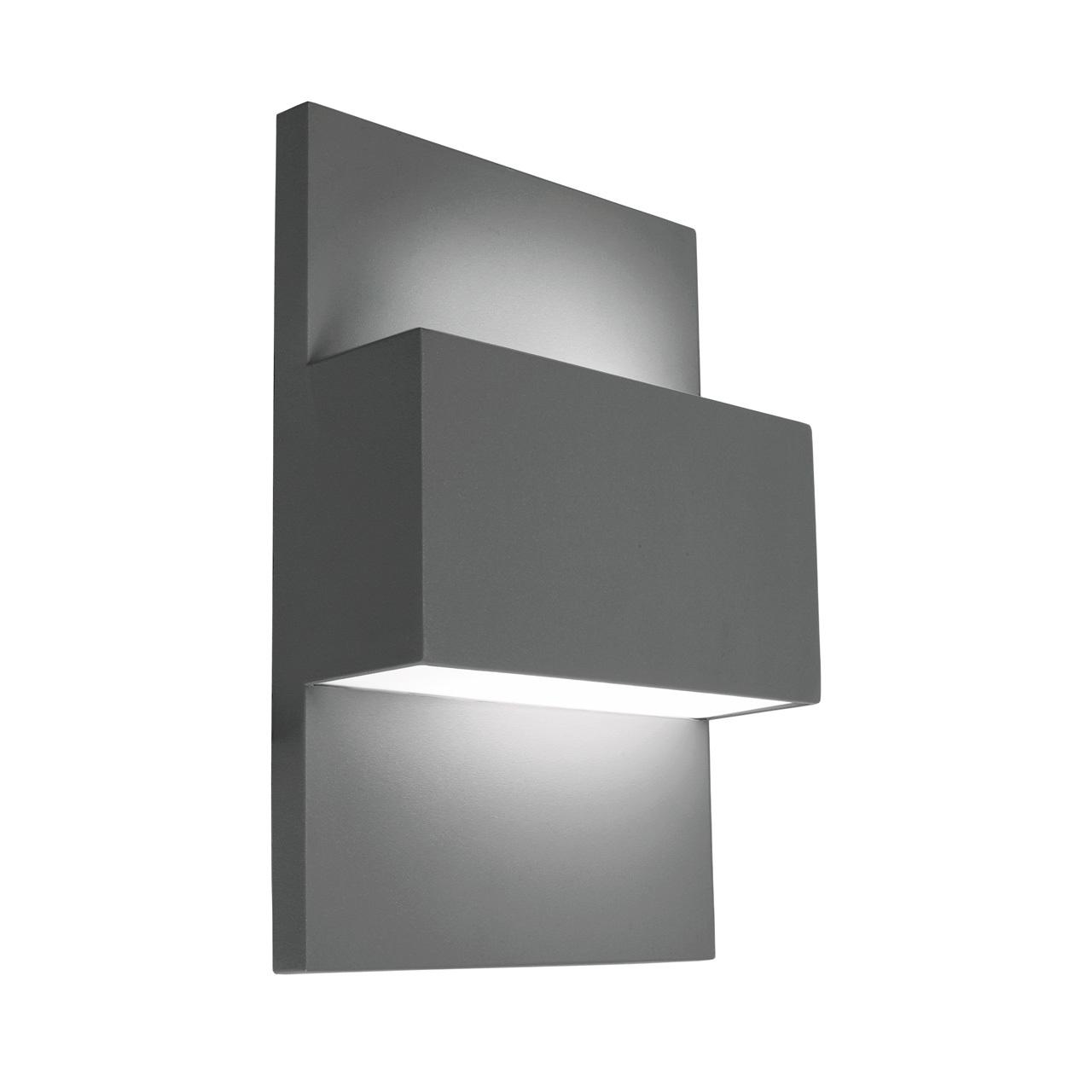 Lampa ścienna GENEVE LED 879GR -Norlys  SPRAWDŹ RABATY  5-10-15-20 % w koszyku