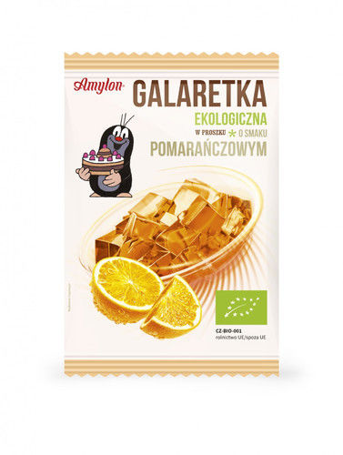 Galaretka pomarańczowa BIO 40g Amylon