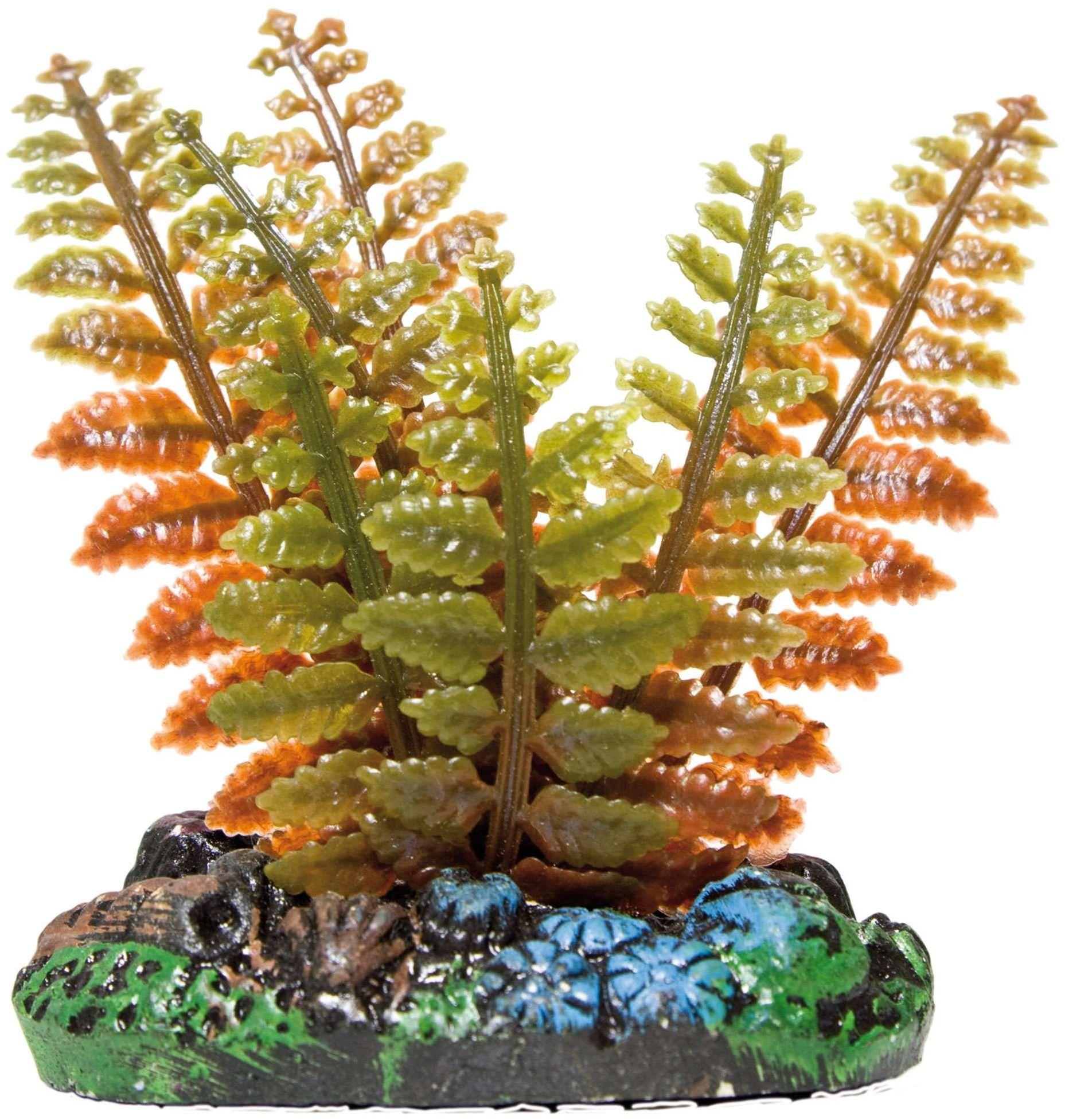 ICA AP1019 rośliny wodne paproć plastik