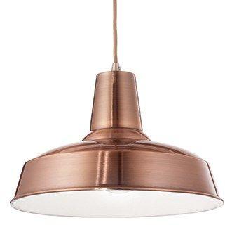 Lampa wisząca Moby SP1 093697 Ideal Lux nowoczesna oprawa w kolorze miedzi