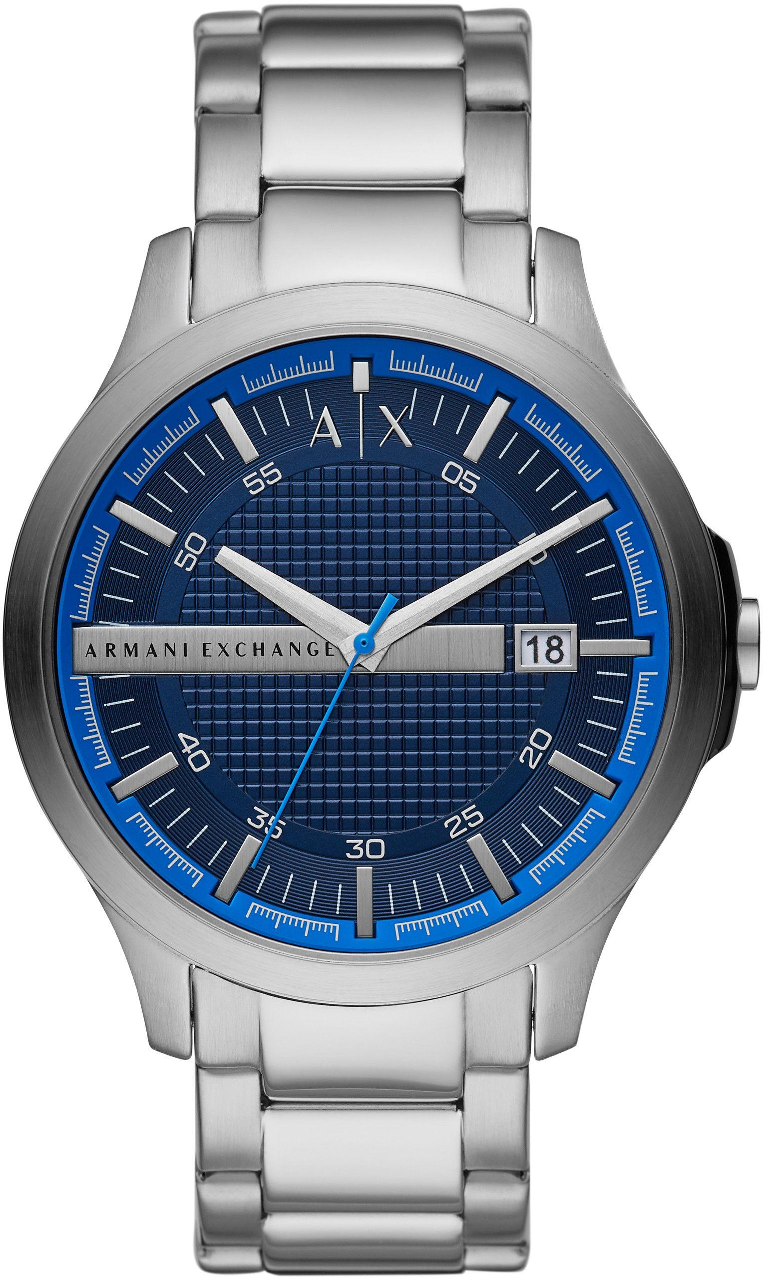 Zegarek Armani Exchange AX2408 HAMPTON - CENA DO NEGOCJACJI - DOSTAWA DHL GRATIS, KUPUJ BEZ RYZYKA - 100 dni na zwrot, możliwość wygrawerowania dowolnego tekstu.