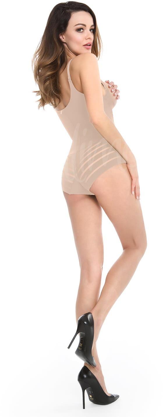 Body damskie pod biust Julimex 119 beżowe