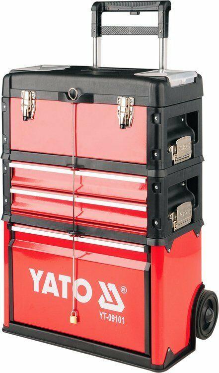 WÓZEK NARZĘDZIOWY 3-CZĘŚCIOWY Yato YT-09101 - ZYSKAJ RABAT 30 ZŁ