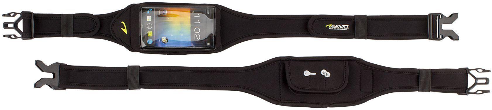 Pas biodrowy do biegania na smartfon Avento