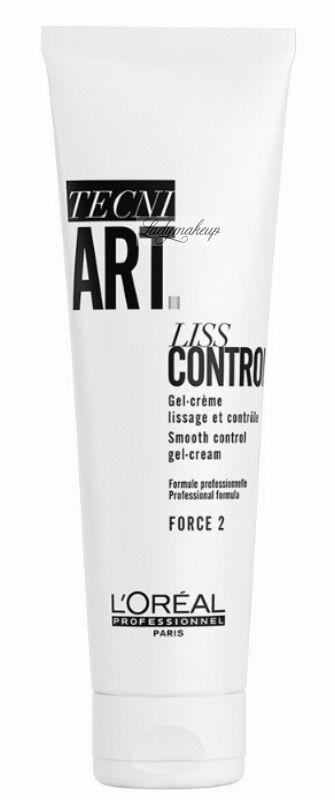 L Oréal Professionnel - TECNI.ART - LISS CONTROL - Dyscyplinująco wygładzający żel-krem do włosów