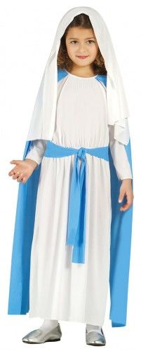 Kostium na jasełka dla dziewczynki Dziewica Maryja