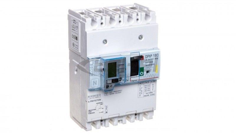 Wyłącznik mocy 100A 4P 16kA DPX3 160+BL.R 420035