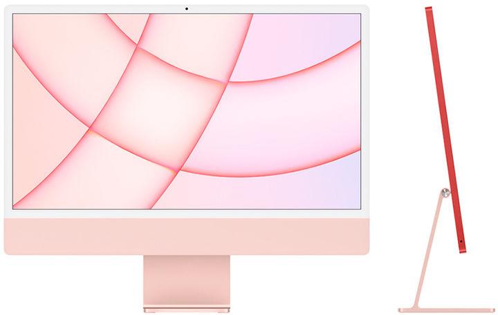 Apple iMac Retina 4,5K 24   M1/8GB/256GB SSD/GPU M1 (8 rdzeni) (różowy) - nowy model