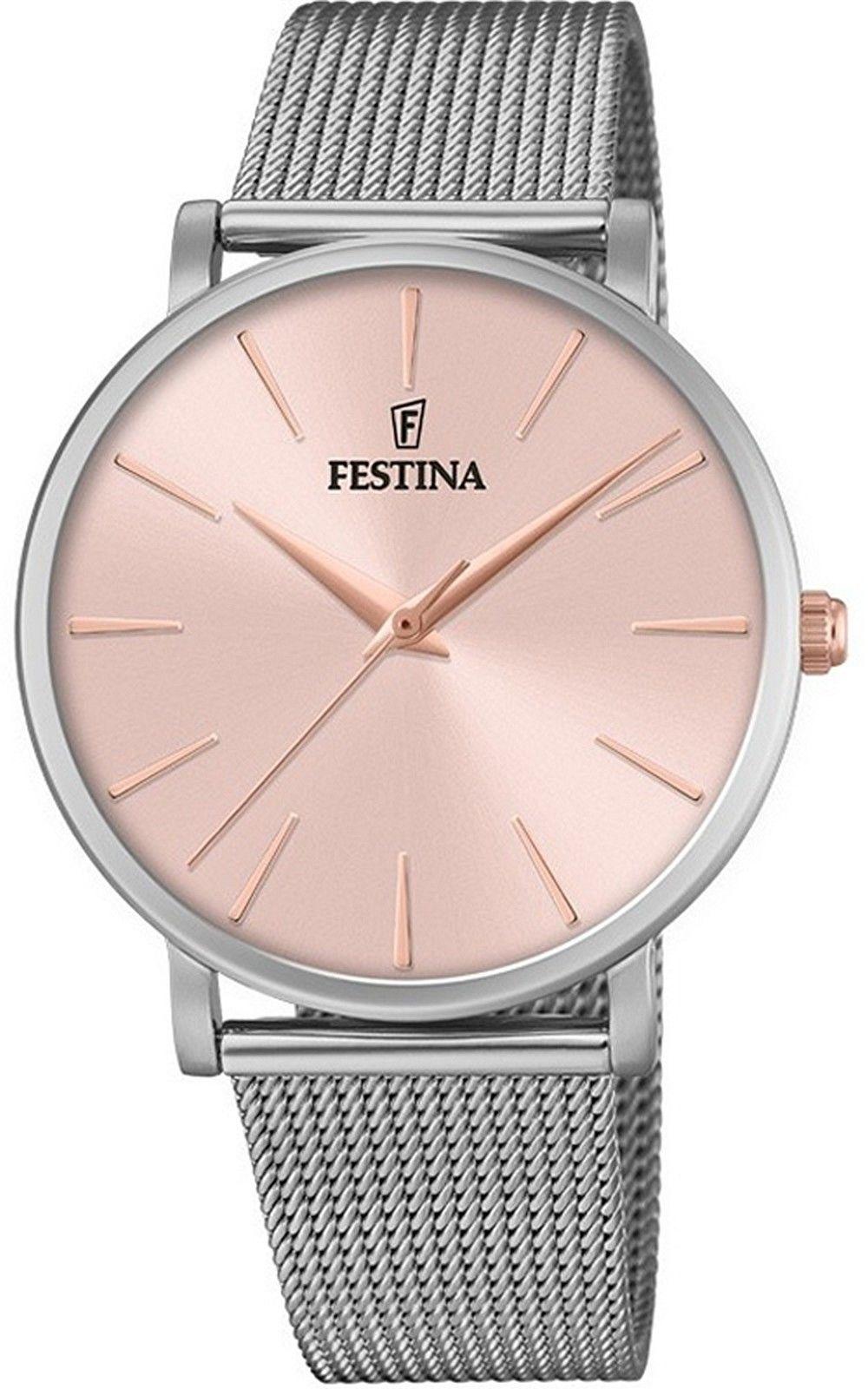 Zegarek Festina F20475-2 Boyfriend - CENA DO NEGOCJACJI - DOSTAWA DHL GRATIS, KUPUJ BEZ RYZYKA - 100 dni na zwrot, możliwość wygrawerowania dowolnego tekstu.