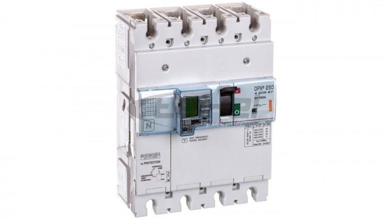 Wyłącznik mocy z modułem różnicowoprądowym 160A 4P 25kA DPX3 250 EL+BL.R 420327
