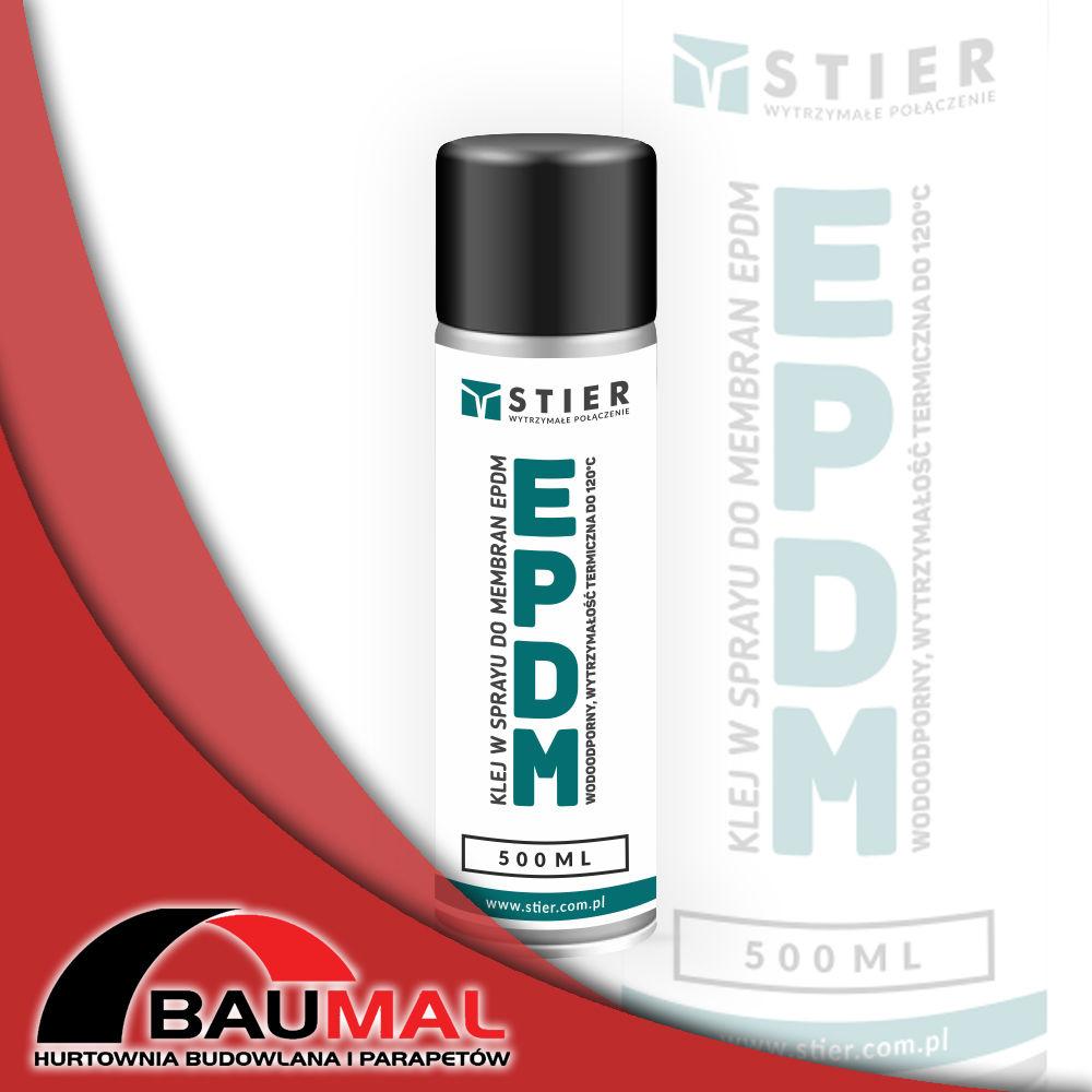 Klej do taśm EPDM w sprayu 500 ml