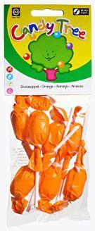 Lizaki okrągłe o smaku pomarańczowym bezglutenowe bio 7 x 10 g - candy tree