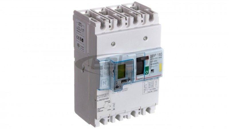 Wyłącznik mocy z zabezpieczniem różnicowprądowym 4P 125A 16kA DPX3 160+BL.R 420036