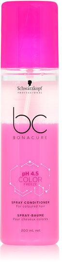 Schwarzkopf BC Color Freeze Conditioner Spray Odżywka dwufazowa w sprayu do włosów farbowanych 200 ml