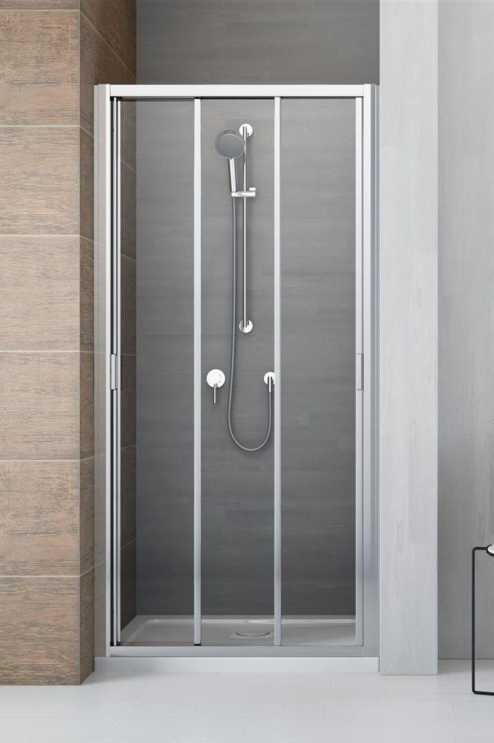 Drzwi wnękowe Radaway Evo DW 100 cm, szkło przejrzyste wys. 200 cm, 335100-01-01