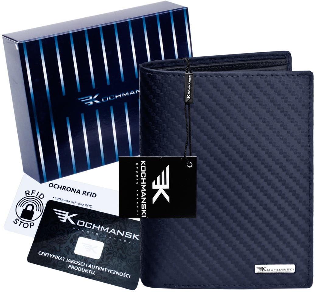 KOCHMANSKI skórzany portfel męski PREMIUM 3205