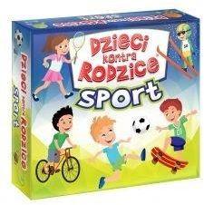 Dzieci kontra rodzice Sport ZAKŁADKA DO KSIĄŻEK GRATIS DO KAŻDEGO ZAMÓWIENIA