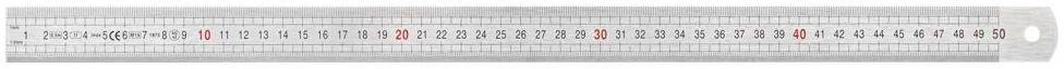 Przymiar liniowy 500 mm inox Dexter