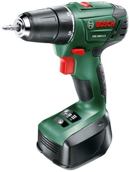 Wiertarko-wkrętarka Bosch PSR 1800 LI-2 2 x 1,5 Ah