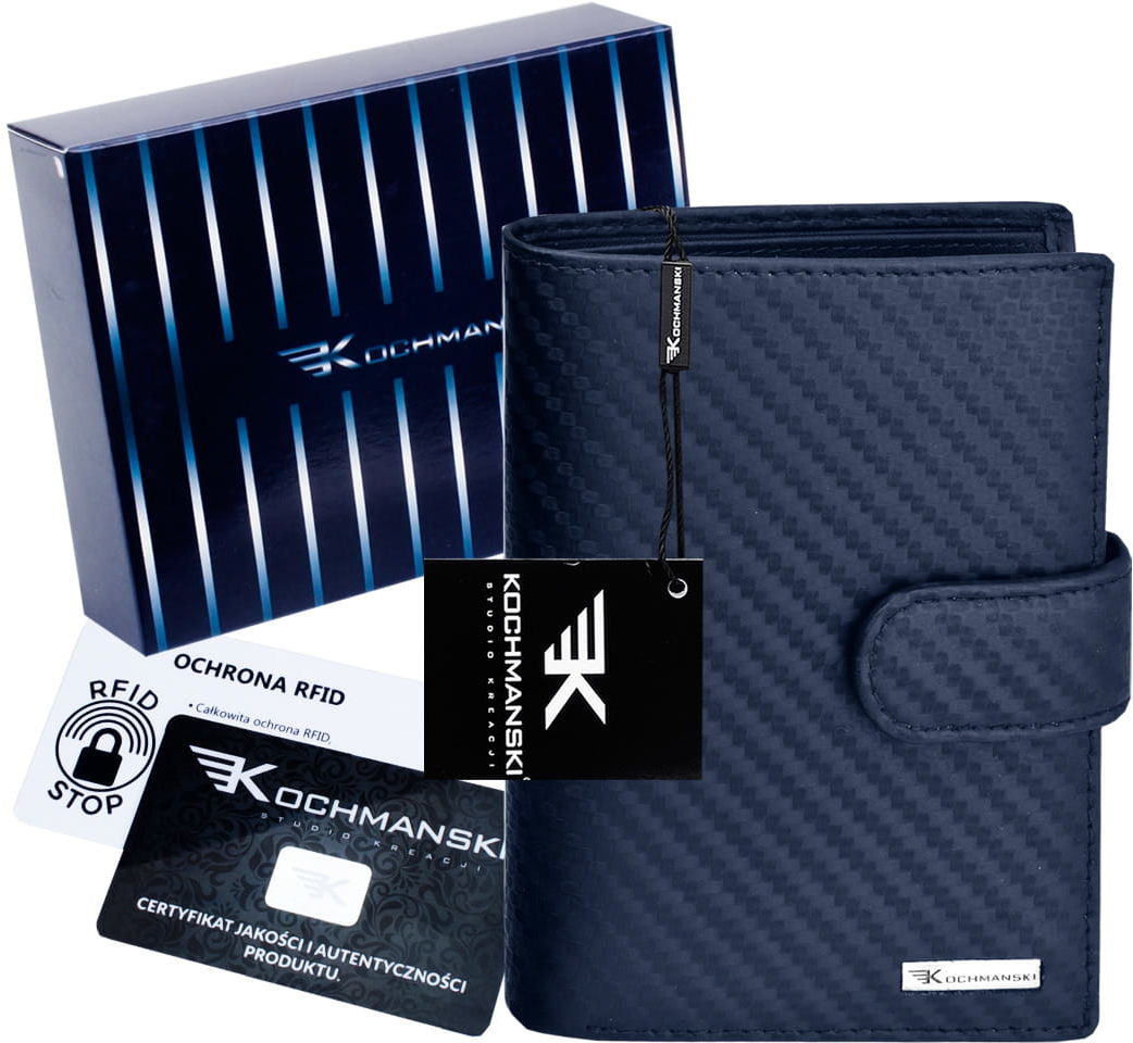 KOCHMANSKI skórzany portfel męski PREMIUM 3206