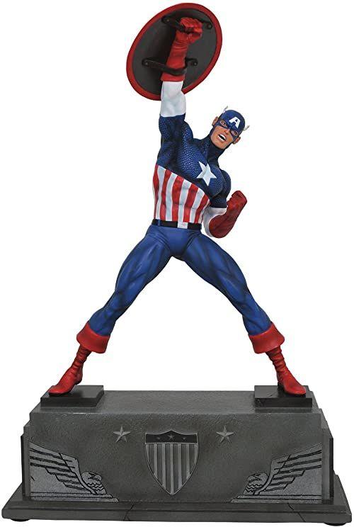 Marvel Premiere Captain America Statue (O/A)