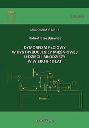 Dymorfizm płciowy w dystrybucji siły mięśniowej u dzieci i młodzieży w wieku 8-18 lat - Ebook.