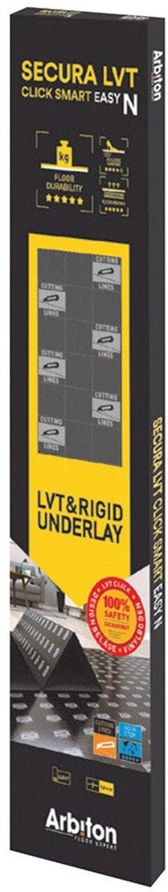 Podkład podłogowy Arbiton LVT Click Easy N 1 mm 6,25 m2