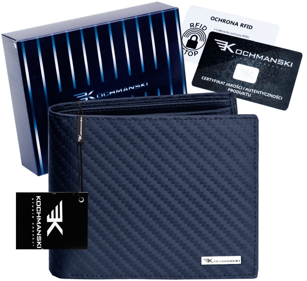 KOCHMANSKI skórzany portfel męski PREMIUM 3207