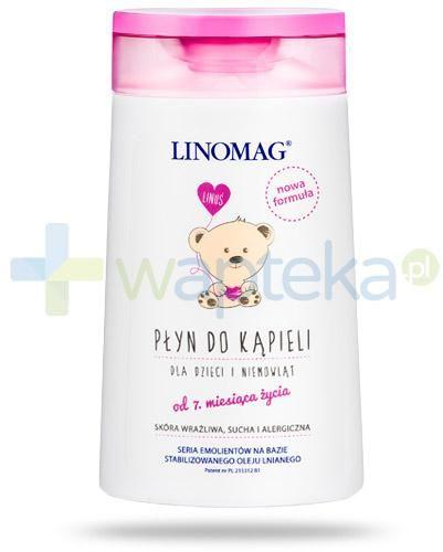 Linomag płyn do codziennej kąpieli dzieci i niemowląt od 7-go miesiąca życia 200 ml