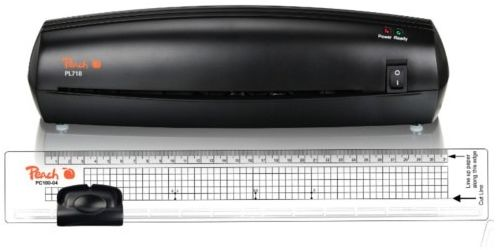 Laminator PEACH PL718 + trymer PEACH PC100-04 (PBP105)