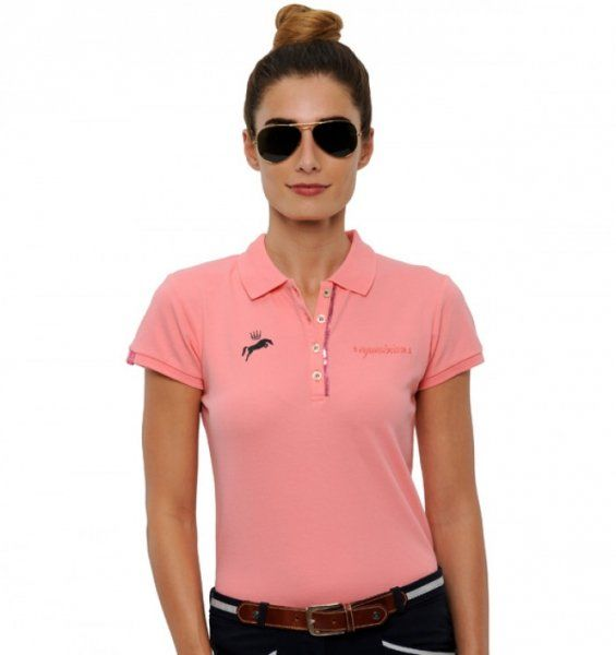 Koszulka polo NICKY - Spooks - pink icing - damska