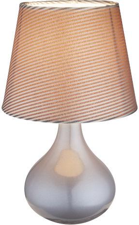 Globo FREEDOM 21651 lampa stołowa szara 1xE14 17cm