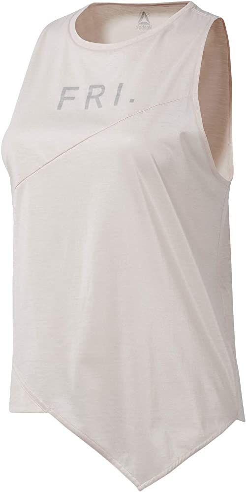 Reebok Damska koszulka Y Graphic Tank bez rękawów, Buff, XS