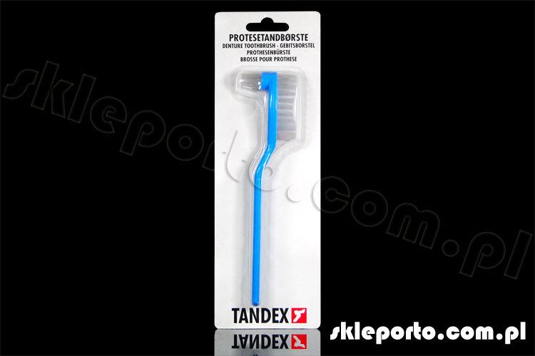 Tandex szczoteczka do protez szyn aparatów - asortyment ortodontyczny Szczotka do protez